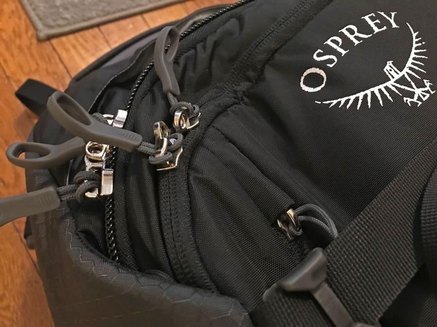 Osprey Porter review - Material