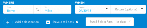 Italy Train Tickets - Railpass Reservation