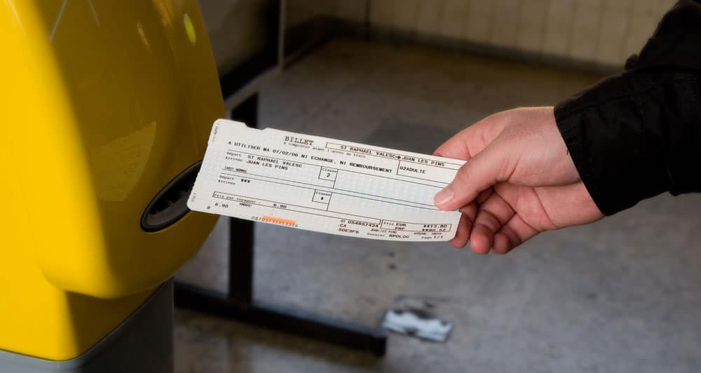 France Train - Ticket validate