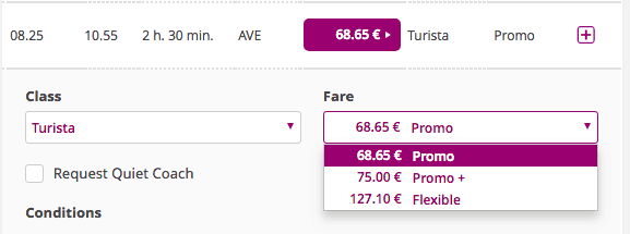 spain train tickets - buying tickets