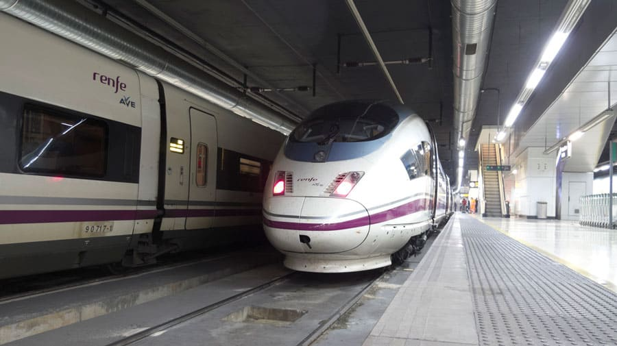 Spain train - high speed train