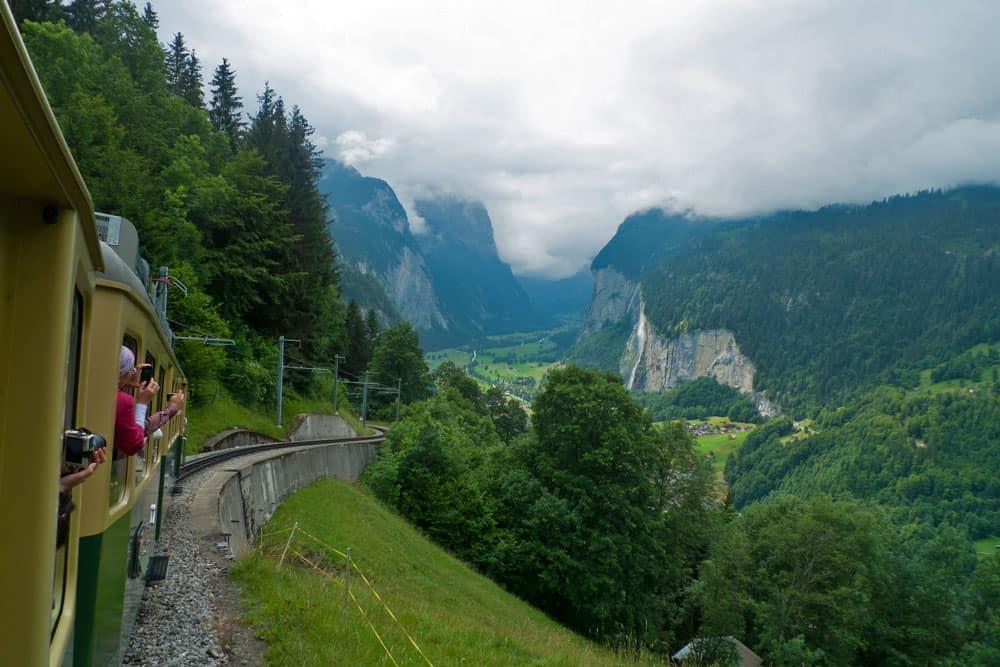 Switzerland Train Guide