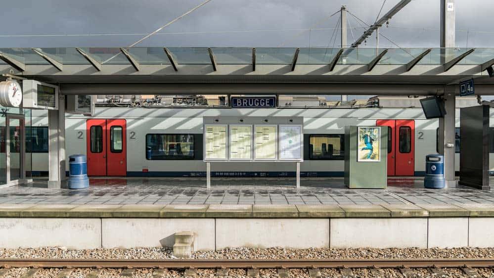 Belgium Train - Brugge