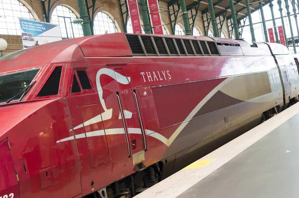 Belgium train - Thalys