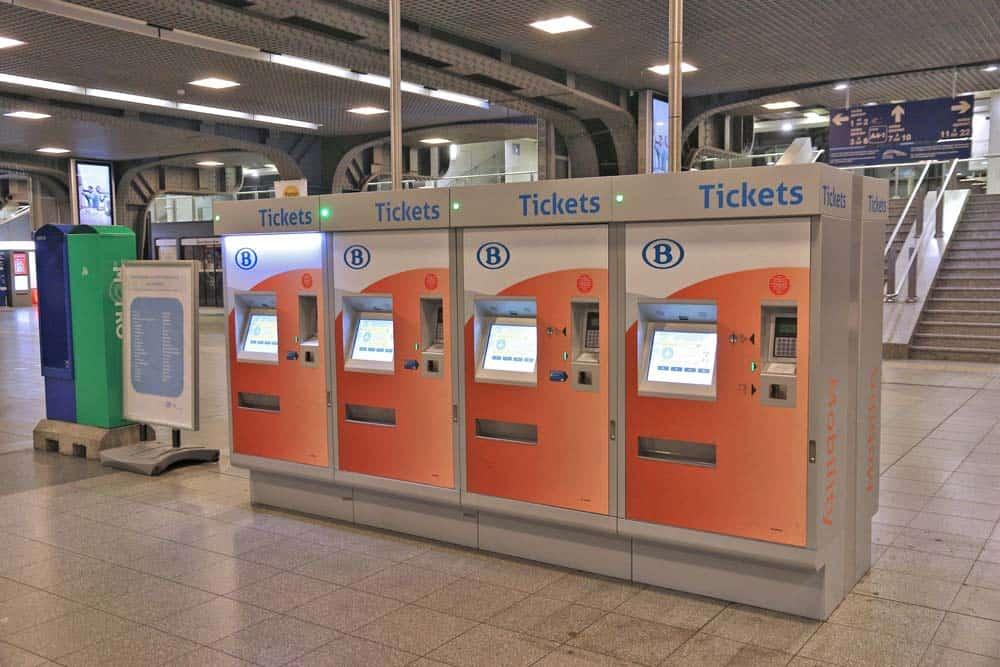 Belgium train tickets
