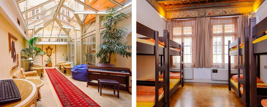 Best Prague Hostels - Hostel Santini