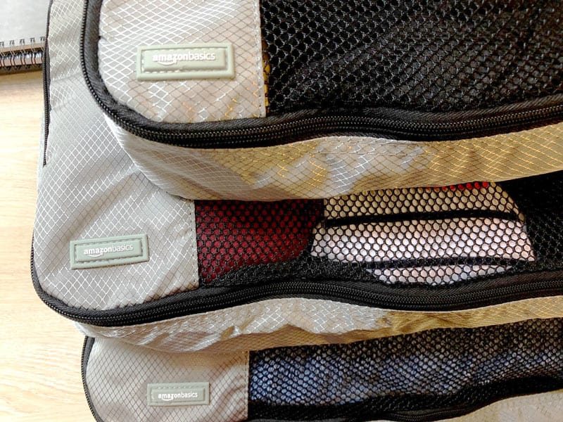 Best Packing Cubes - Amazon Basics Review