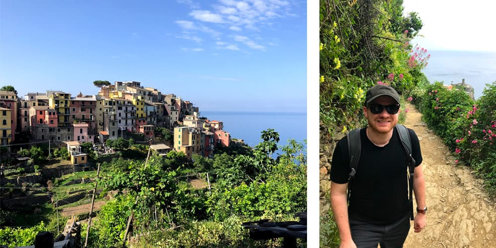 Blue Trail Cinque Terre