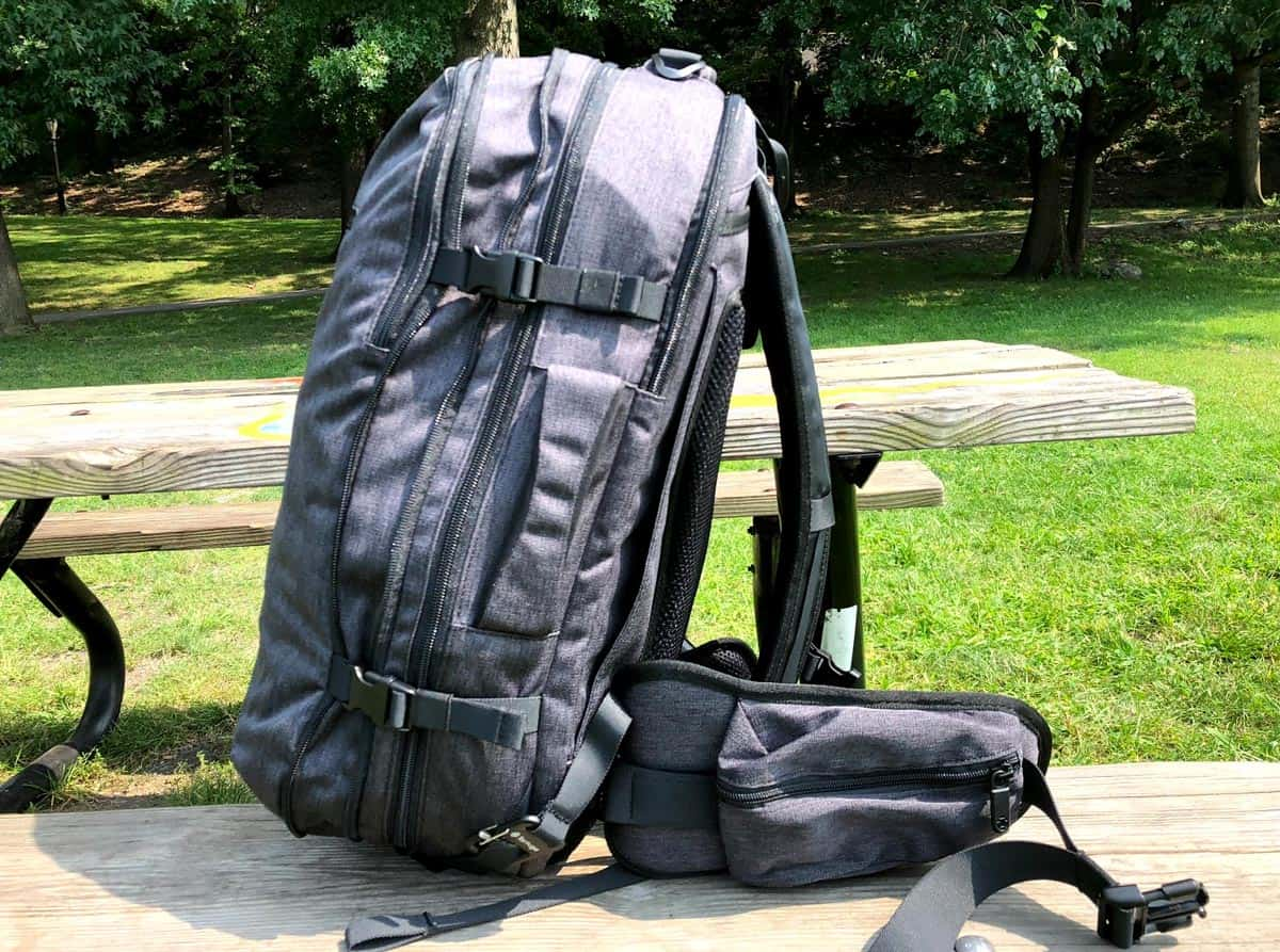 35f91b379e8 Earlier in 2018, we reviewed the much-loved Tortuga Setout — a big ol ' 45L  maximum carry-on sized backpack that can fit a ton of stuff.