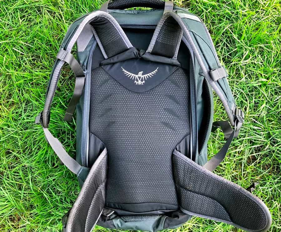 Osprey Farpoint 40 Review | Back Padding