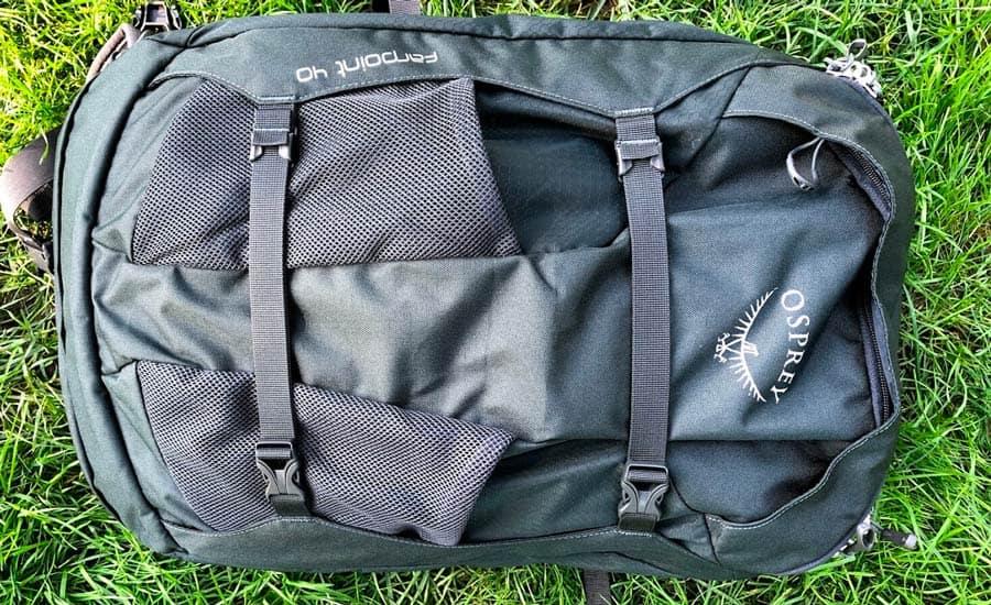 Osprey Farpoint 40 Water Bottle Pockets