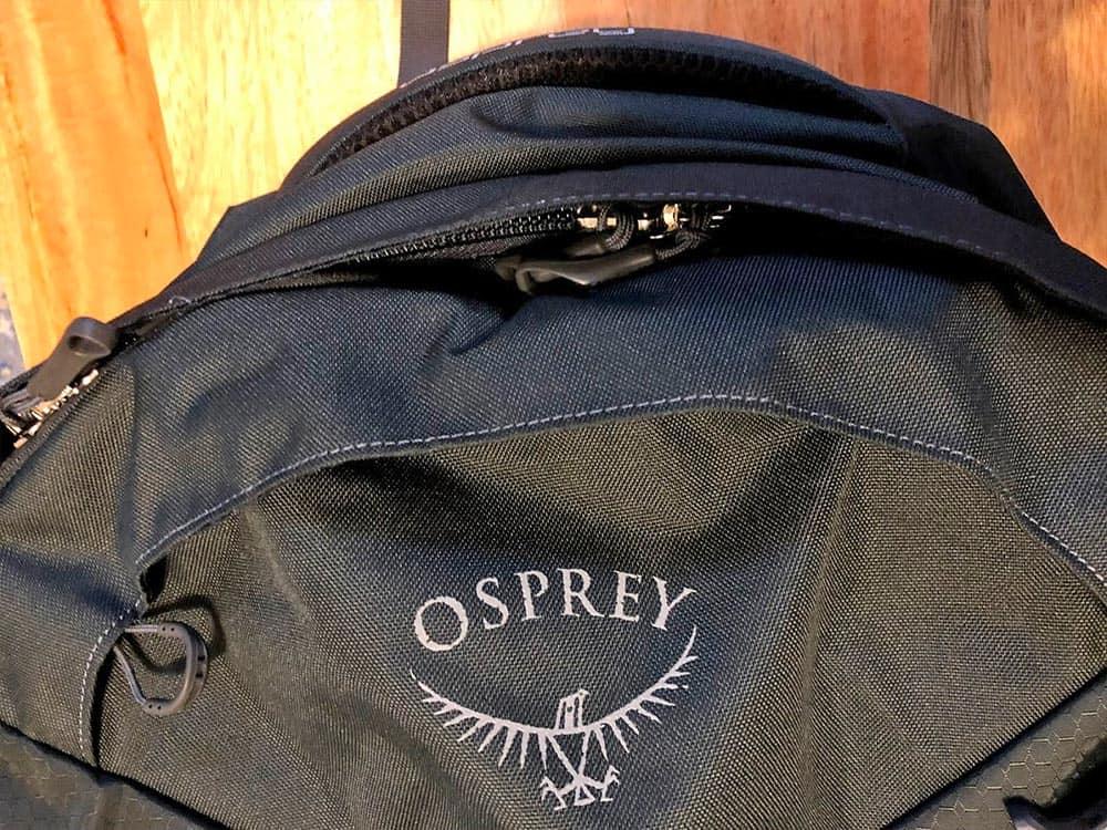 Osprey Farpoint 40 Zippers