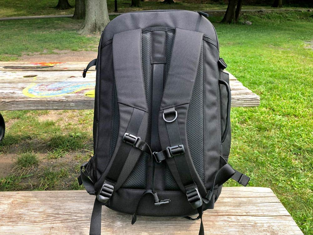 Aer Travel Pack 2 | Shoulder Straps Comfort