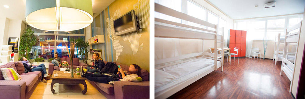 Best Hostels in Vienna | Wombats Lounge Hostel