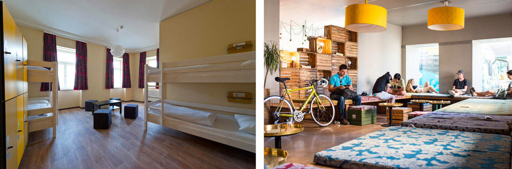 Best Hostels in Vienna | Wombats Naschmarkt Hostel