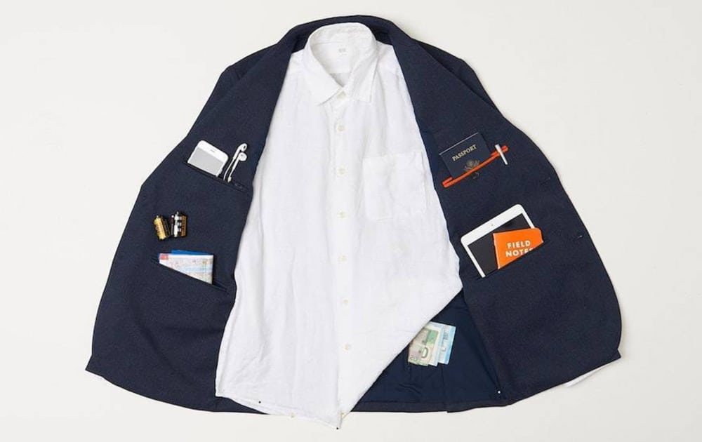 Bluffworks travel blazer | pockets