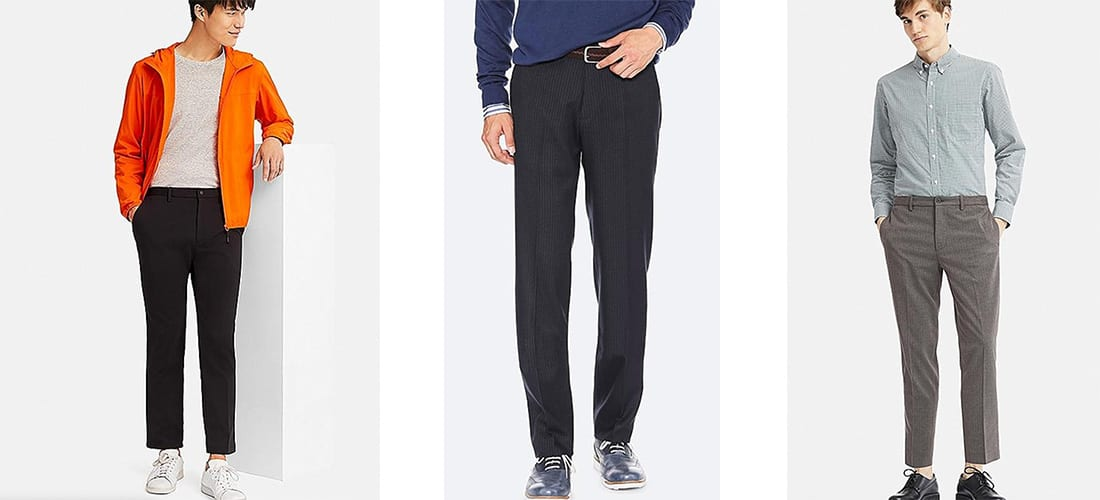 Travel Pants from Uniqlo