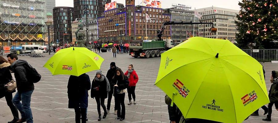 Free walking tours of Copenhagen