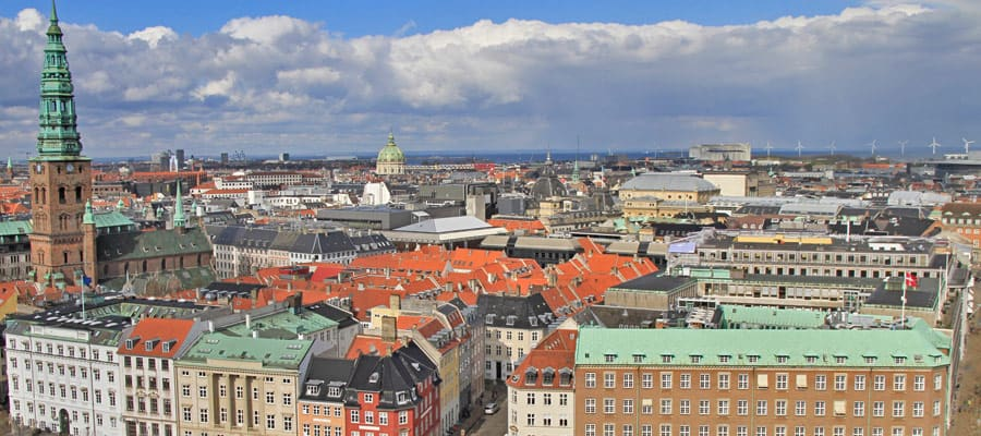 View from Christiansborg Palace Tower | Copenhagen Travel
