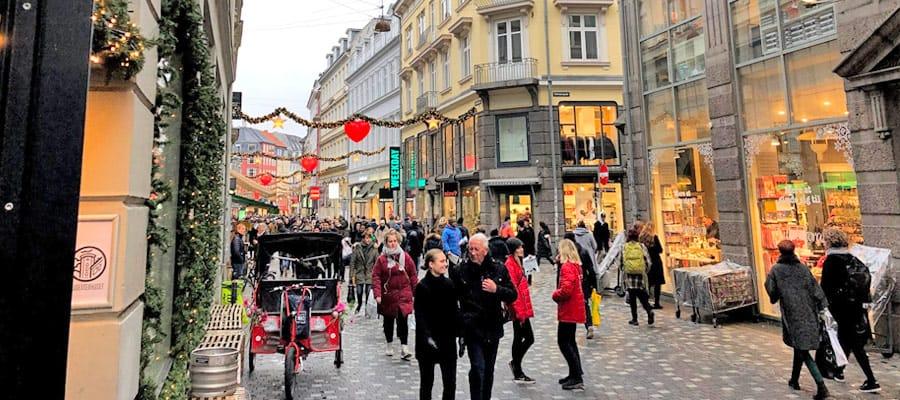 Stroget Shopping Street | Copenhagen