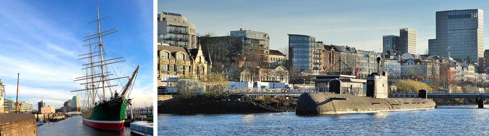 Hamburg Travel - Harbor and Ships