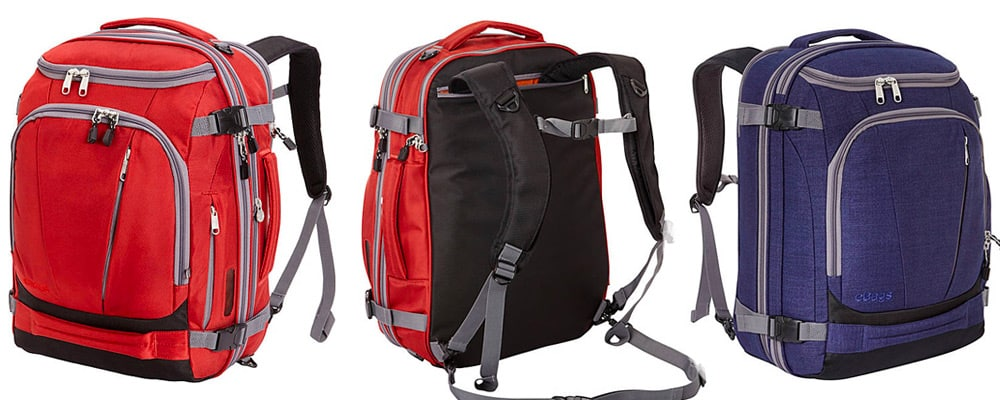 3d3ef6facec The eBags TLS Mother Lode Weekender is a max carry-on size backpack that s  purpose-built for city travel. It s also cheaper than most travel backpacks  at ...