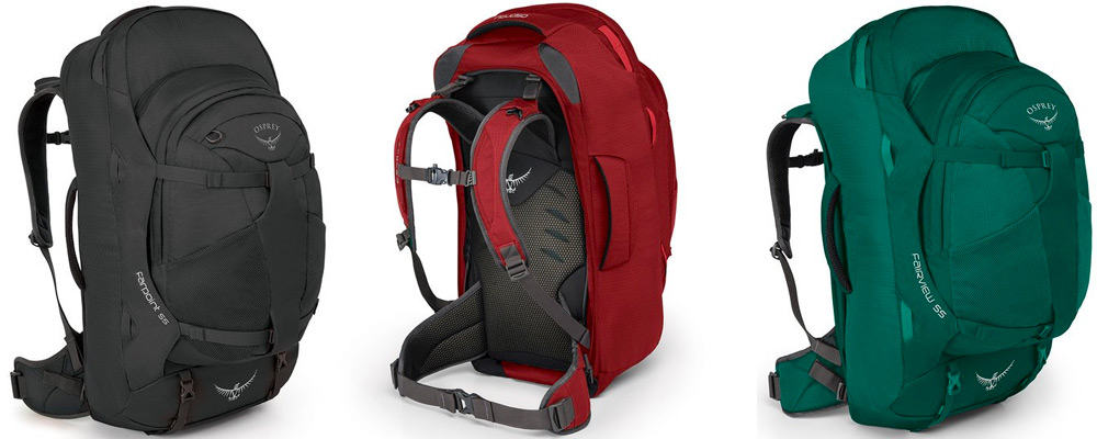 Osprey Farpoint   Fairview 55 Backpack Specs d7826f38be72a