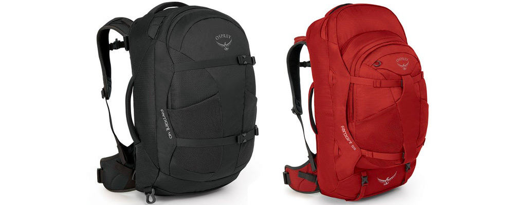 "03f84b7c6d2b Osprey Farpoint   Fairview — Best ""Do-It-All"" Travel Backpacks"