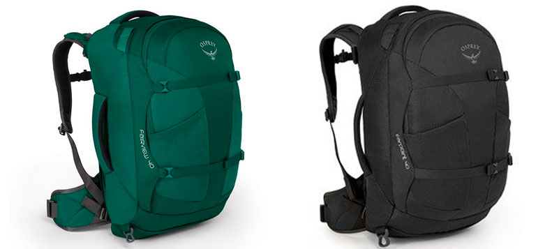 1820ca04bbf3 Fairview 40 (Women s)   Farpoint 40 (Unisex) – Same overall bag with small  gender-specific tweaks. Most travel backpacks are unisex and ...