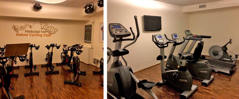 heikotel hotel exercise room