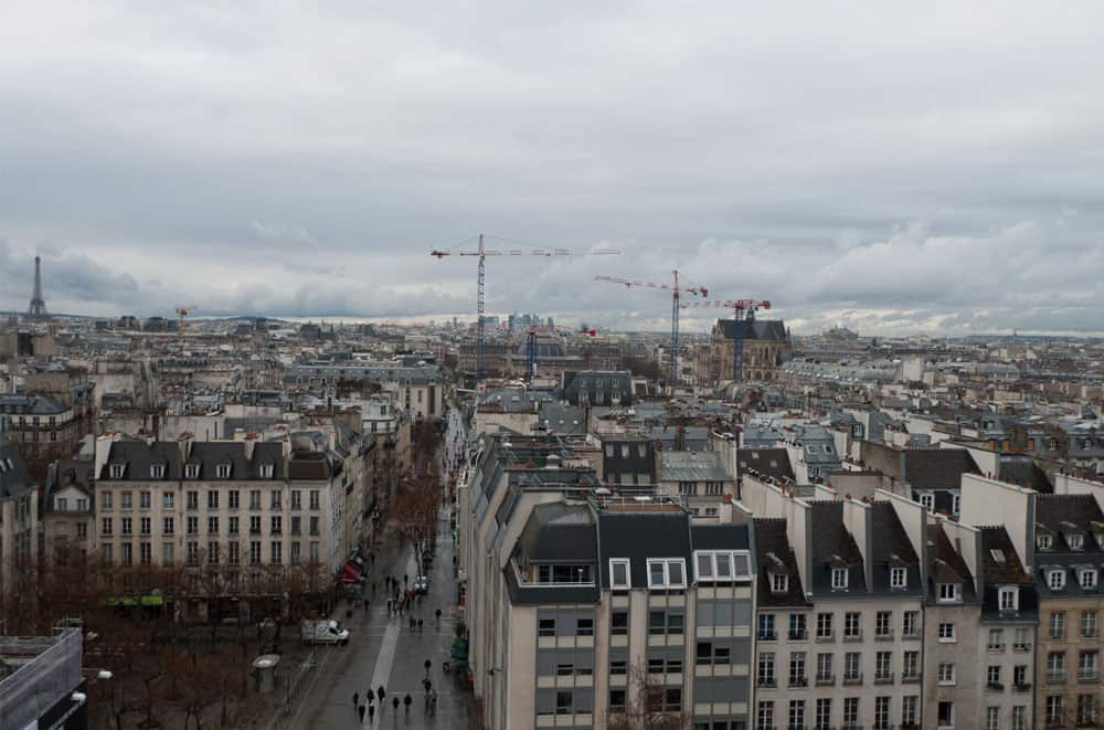 centre pompidou views | Paris Travel Guide