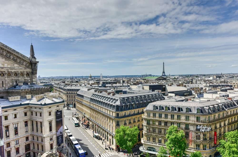 galeries lafayette paris rooftop views