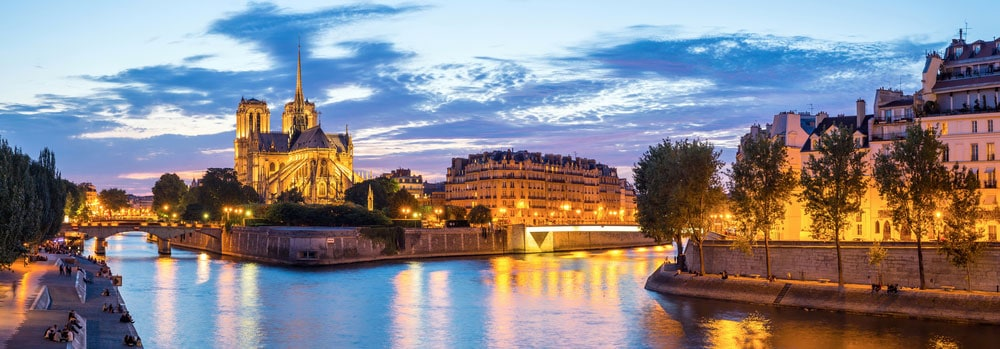 Seine at Night | Paris Travel