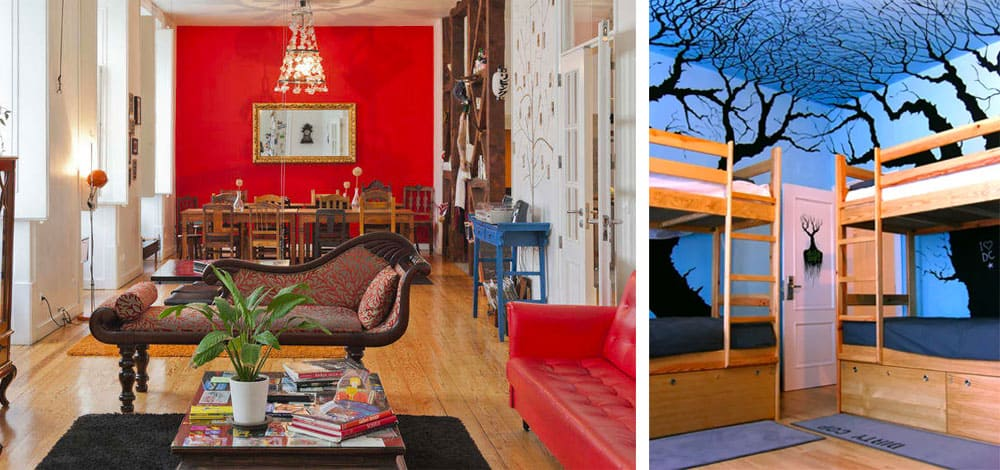 Lisbon Hostels | Living Lounge Hostel