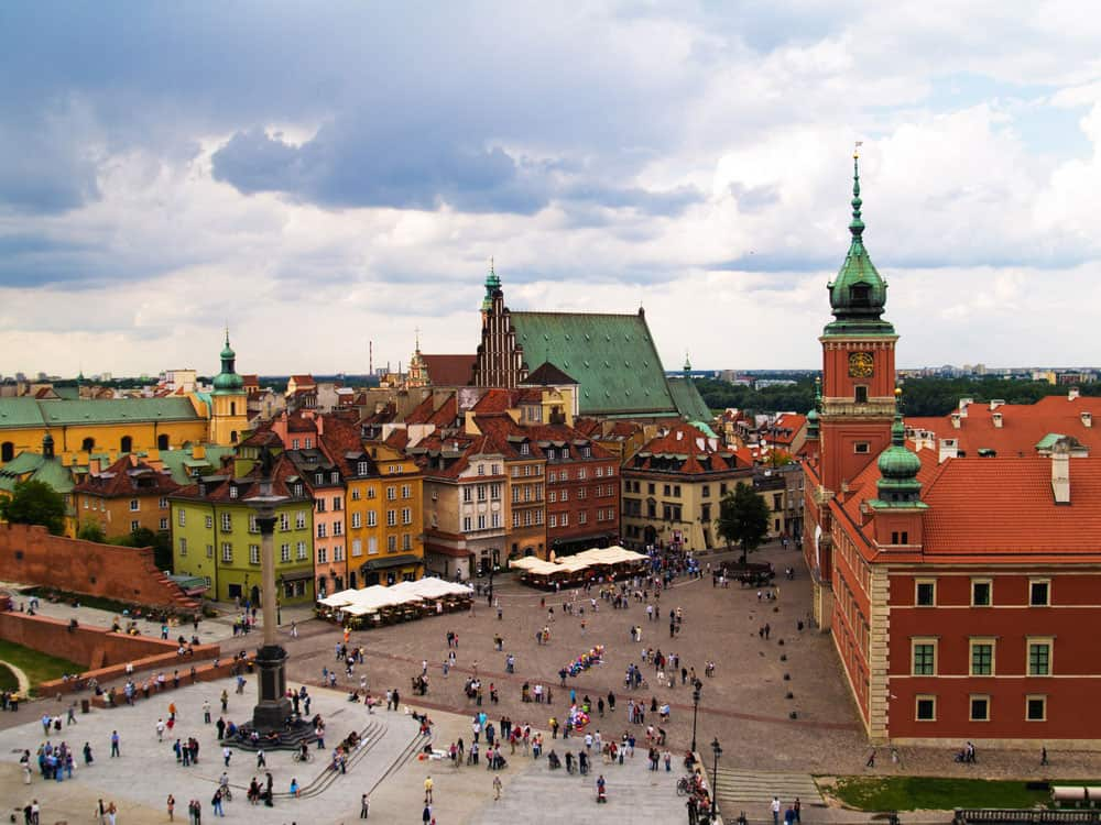 Cheapest Cities In Europe | Warsaw, Poland
