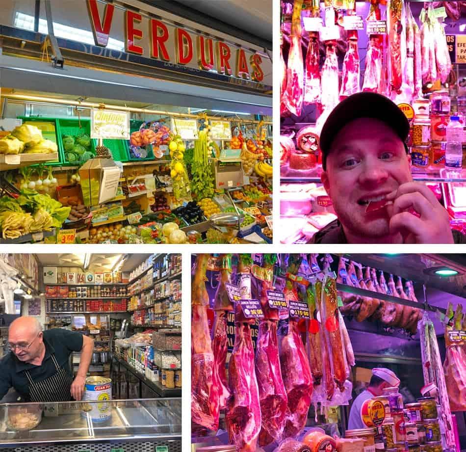 Antón Martín Market in Madrid