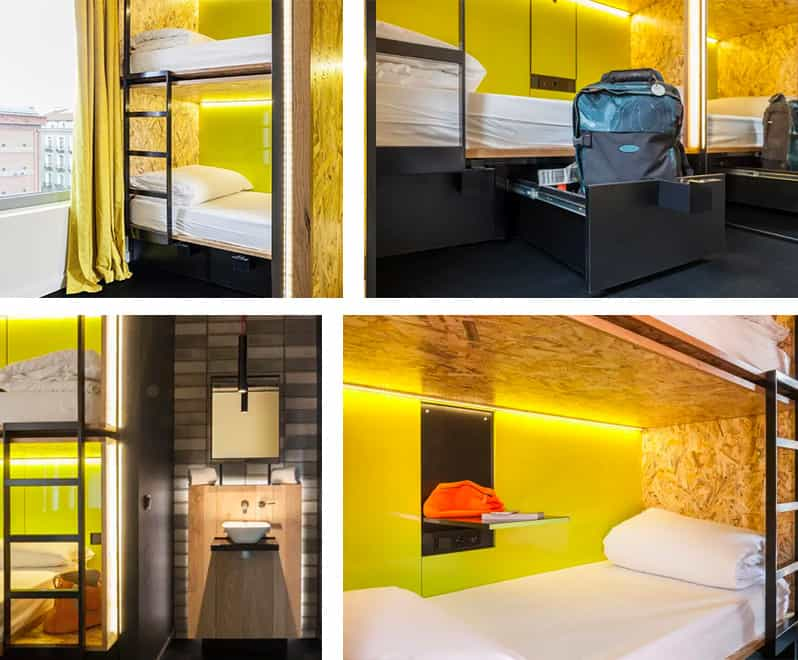 Dorm Rooms - Bastardo Hostel Madrid