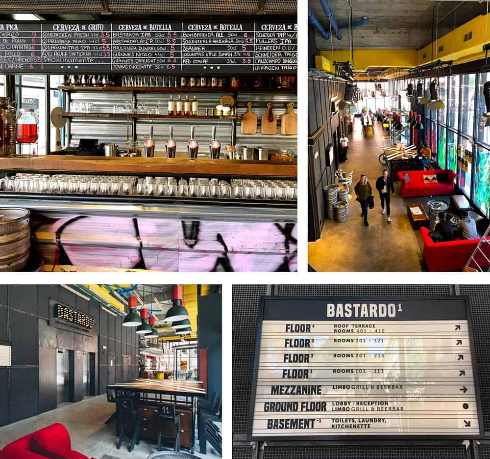 Bastardo Hostel Madrid Review | Interior