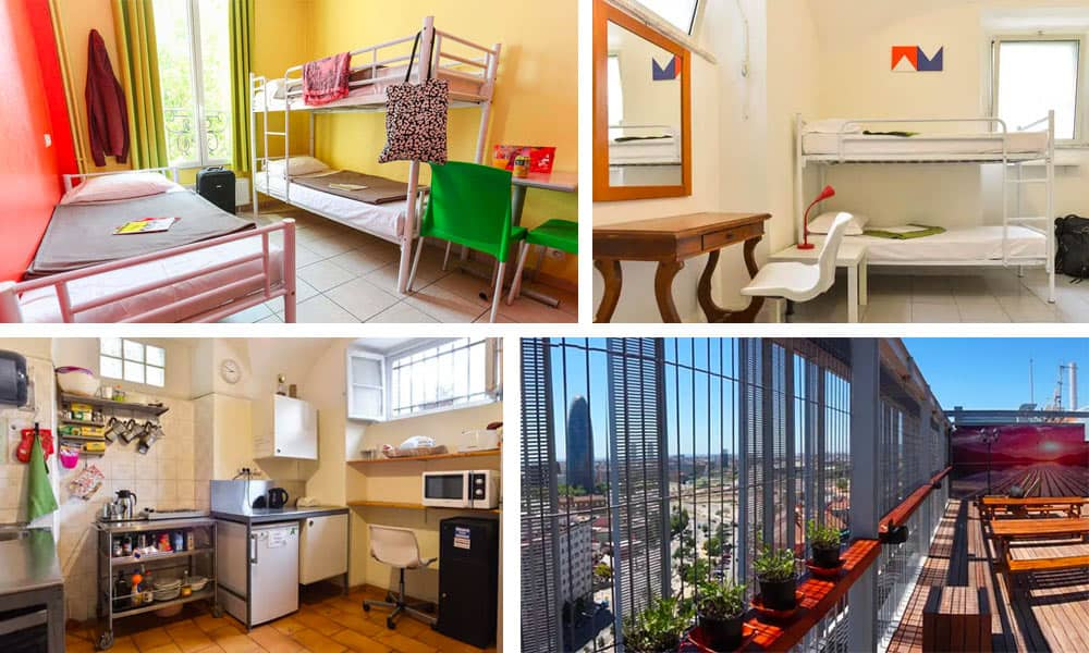 Cheap hostels in Europe