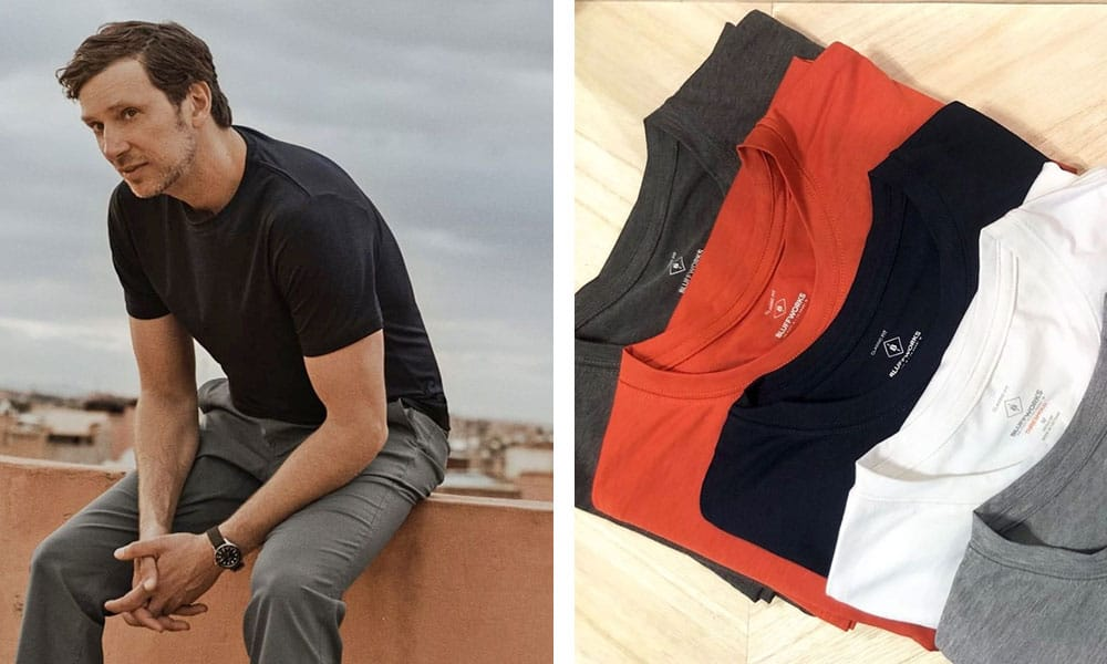 3526b53c7cf1c You might be seeing a pattern here… but Bluffworks is back with their  Threshold Performance T-Shirt. This ultra lightweight t-shirt is made from  a blend of ...