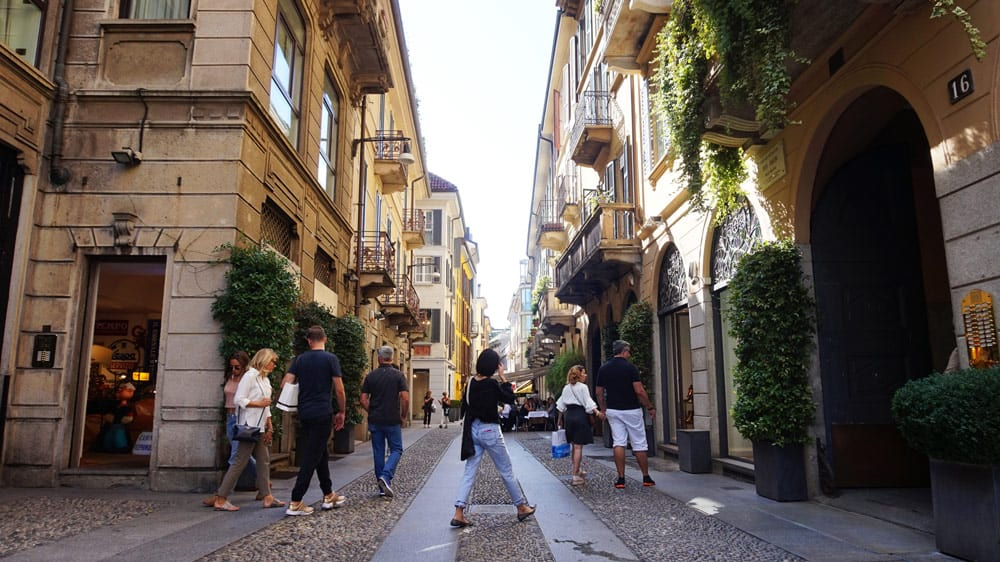 Brera Neighborhood in Milan