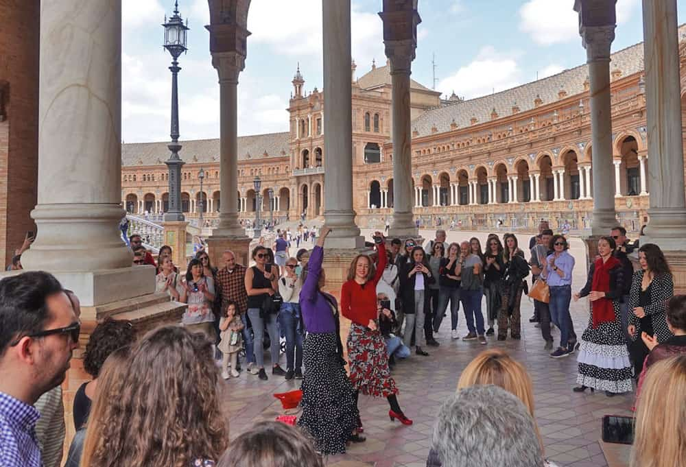 Flamenco in Seville, Spain