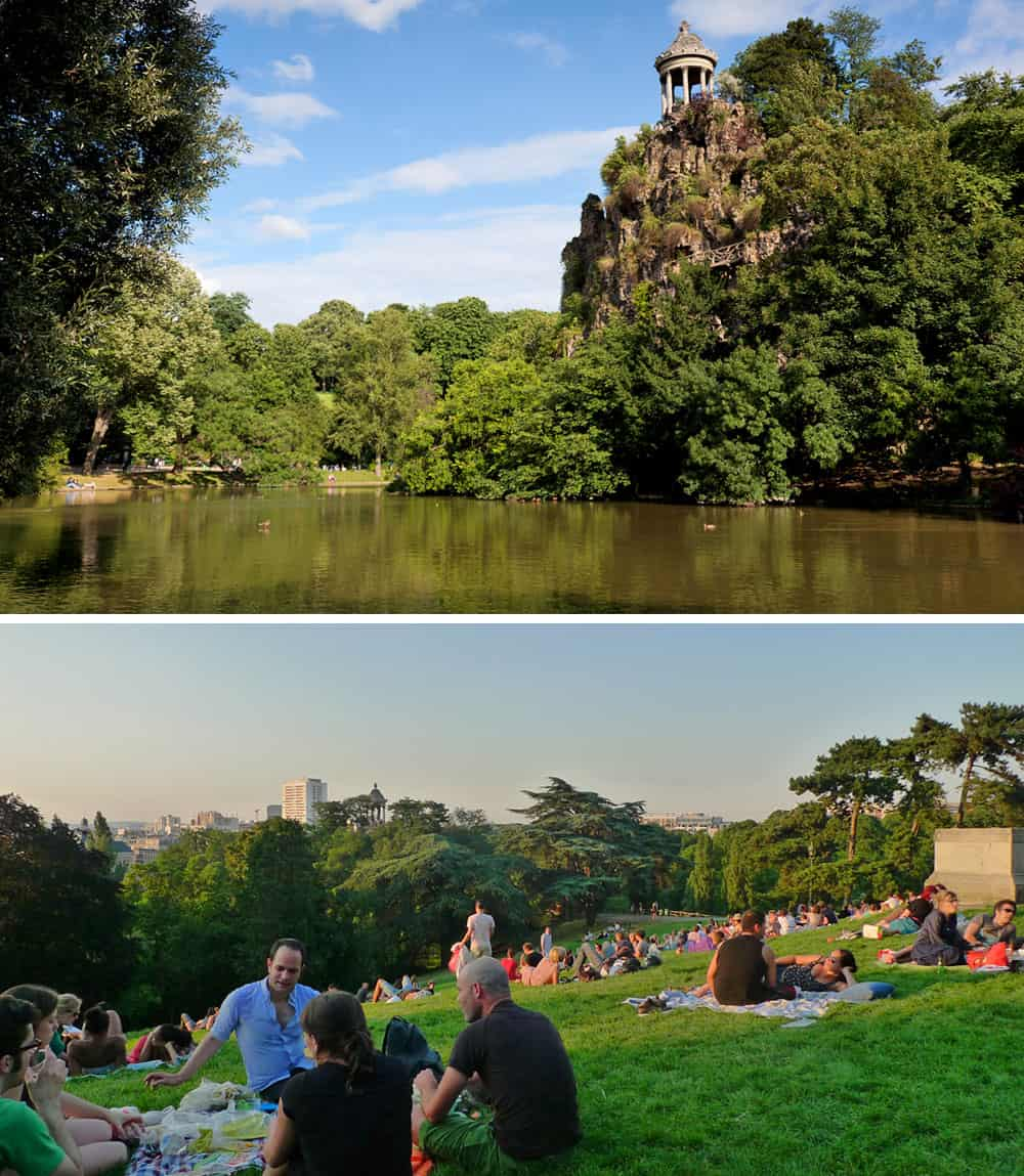 buttes chaumont paris