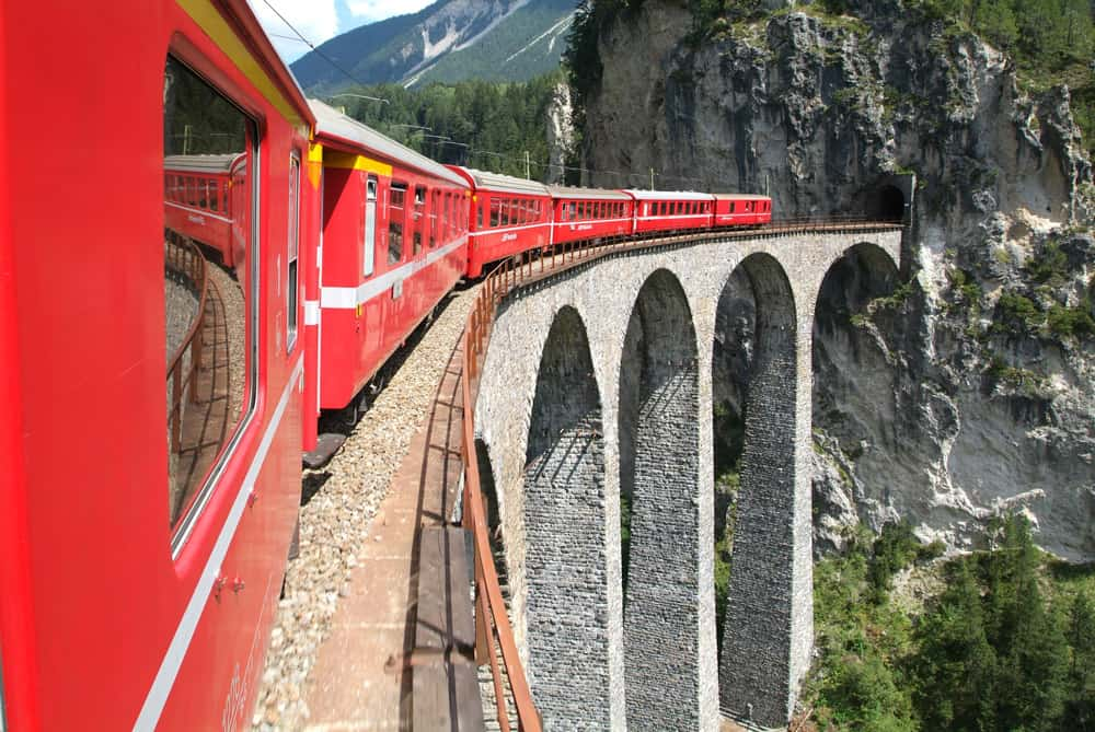Bernina Express Train | Things To Do In Milan