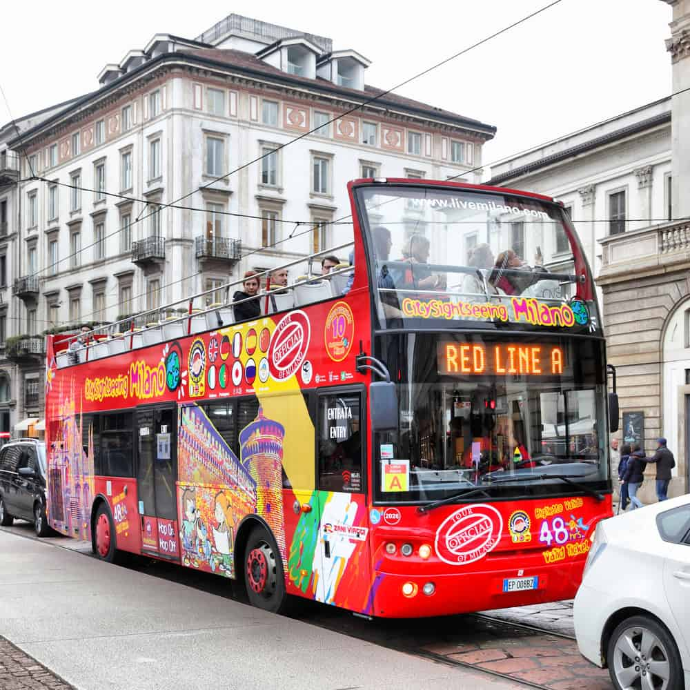 Things To Do In Milan | City Sightseeing Tour Bus