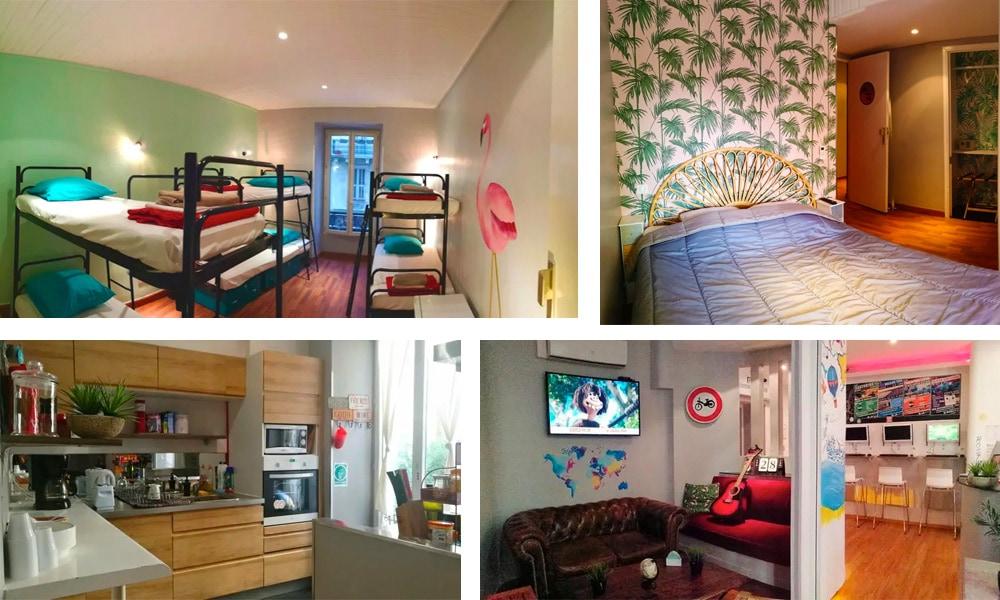 Best Hostels in Nice   Hostel Meyerbeer Beach