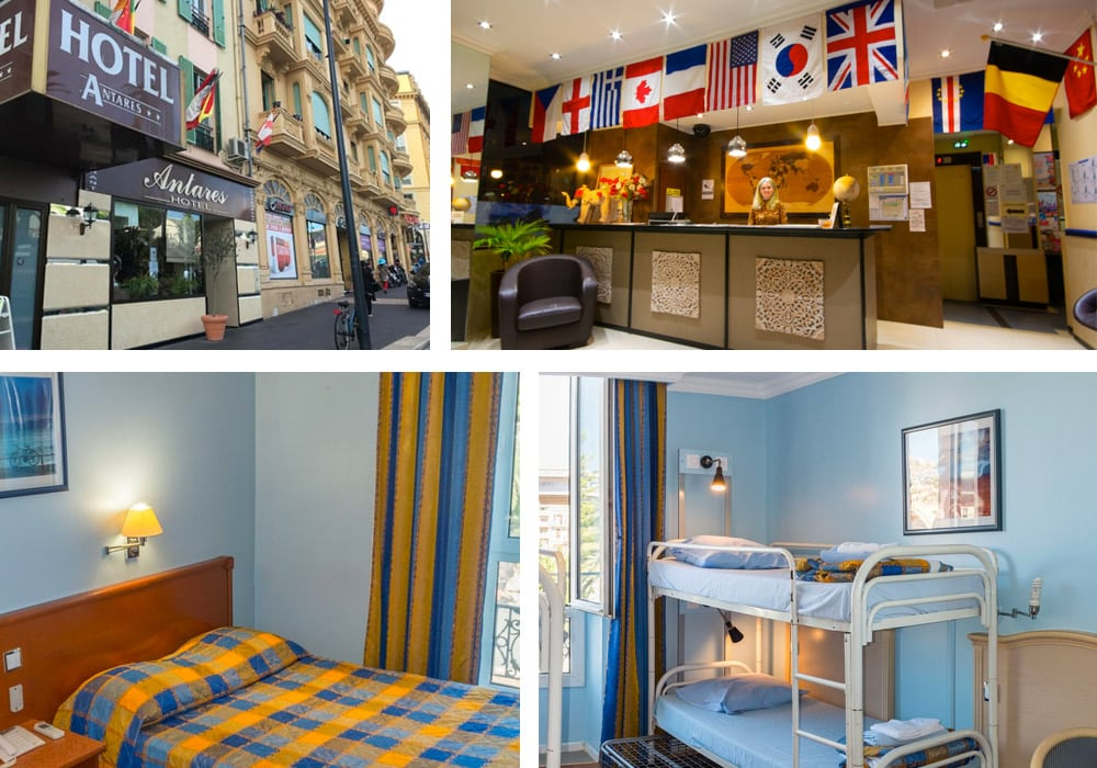 Best Hostels in Nice | Antares Hostel