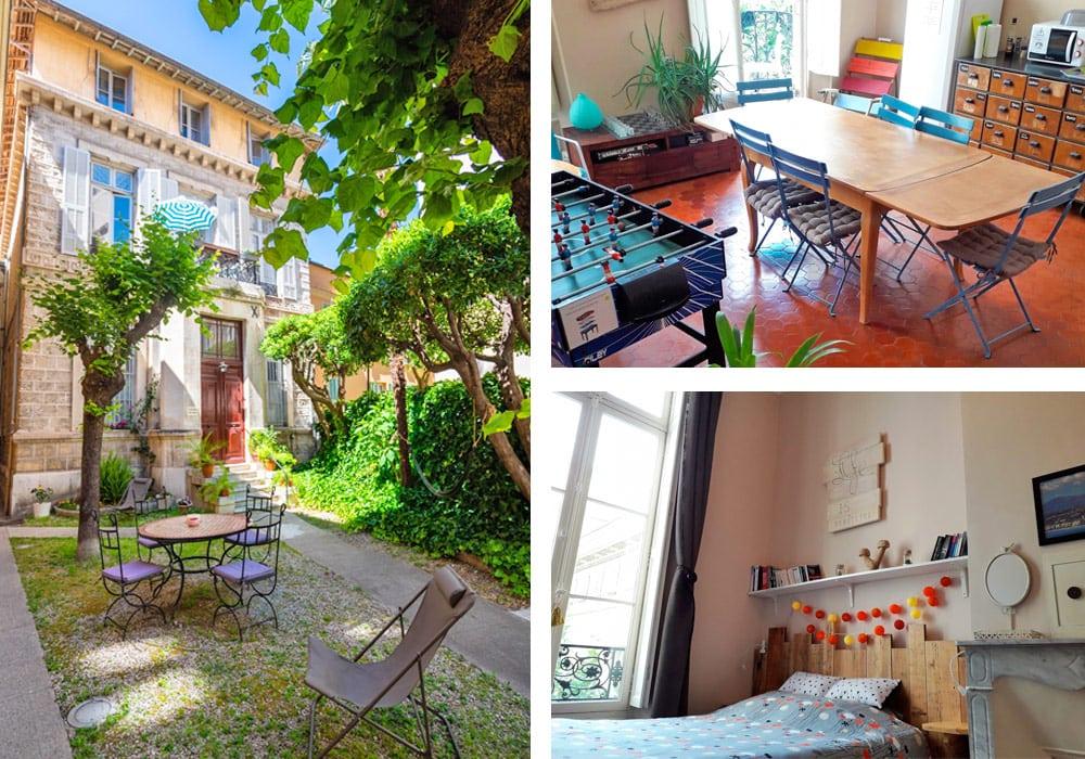 Best Hostels in Nice   La Maïoun Guesthouse