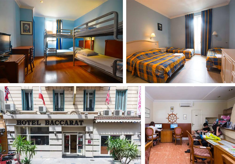 Best Hostels in Nice | Hostel Baccarat