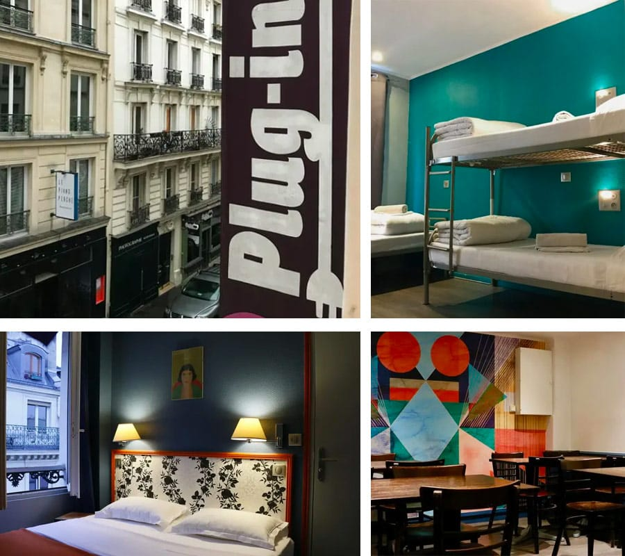 Best Paris Hostel - Plug-Inn Hostel